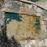Crystal Ridge Stone Monument