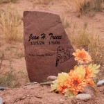 Headstone - Treece Bluff Utah