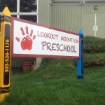 Lookout Mountain Preschool - Post & Panel