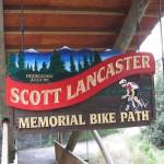 Memorial Bridge Sign - Lancaster Idaho Springs