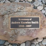 Memorial Plaque - Smith