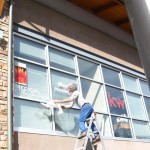 Vinyl Graphics Window - Medi Spa