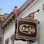 Beau Jo's Pizza Sign Refurb