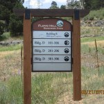 Floyd Hill Bus Park Directional Idaho Springs