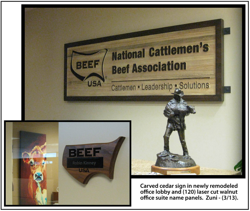 Custom Office Lobby Signage In Englewood Amp Golden Co