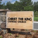 Christ the King - Cast Metal Letters