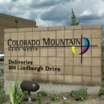 Colorado Mountaion News Media Laser Cut Metal - Basalt