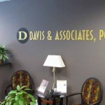Davis & Associates - Laser Cut Acrylic