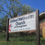 United Methodist Church of Evergreen - HDU Monument