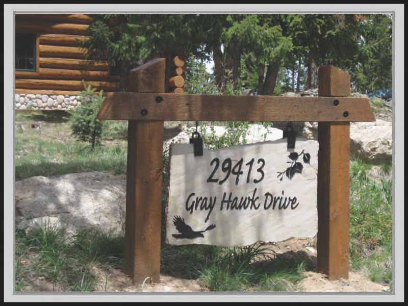 Address Signs Carved Stone Zuni Signs